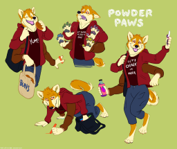 Powder Paws Complete Reference