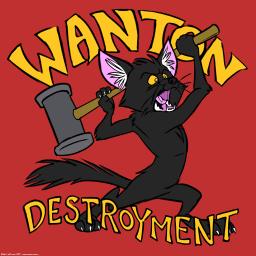 wanton-destroyment