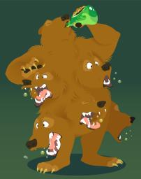 drunk-multibear